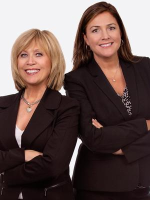 Mary Kay Buhrke and Amber Saxon,: